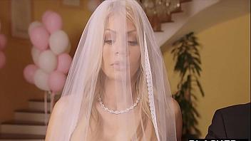 Prueba polla negra por primera vez en el día de su boda